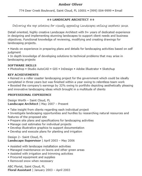 Landscaping Resume Duties by Landscaping Resume Landscaping Resume Sles Landscaping