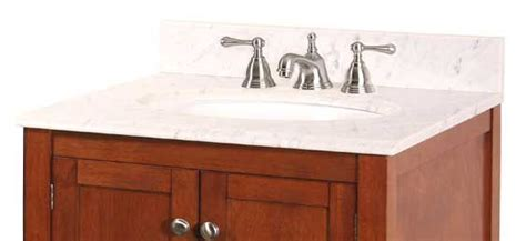 foremost international 25 inch w x 22 inch d marble vanity