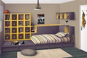 Stunning Chambre Originale Garcon Ideas - Design Trends 2017 ...