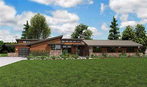 plan wam stunning contemporary ranch home plan