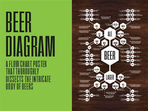beer guide diagrams beer taste guide