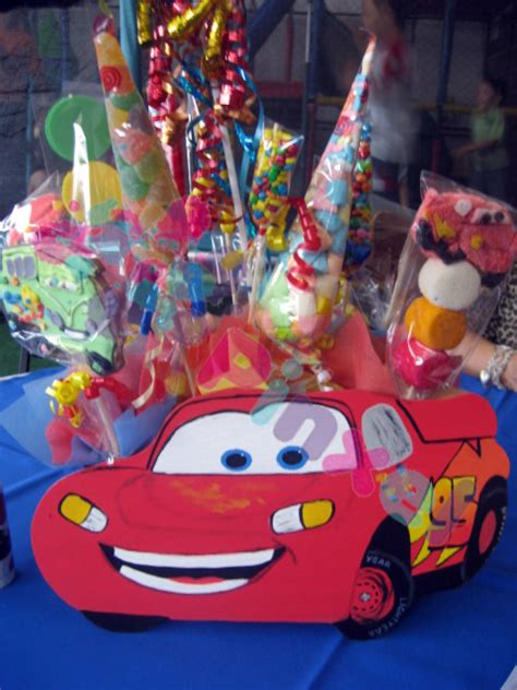 pinxel decoracion souvenirs fiesta cars