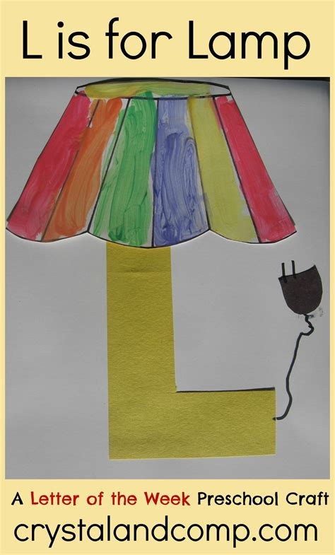 alphabet activities for preschoolers l is for lamp 976 | L is for Lamp crystal and comp