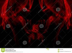 Red Smoke Devil Background Stock Photo - Image: 58942888