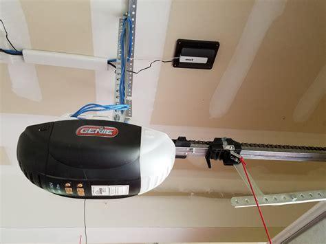 garage door opener installation linear garage door opener install