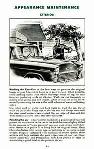 1955 Chevy Owner U0026 39 S Manual