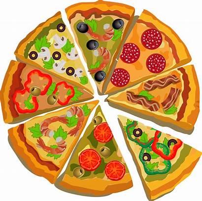 Pizza Clipart Transparent Pizzas Slice Vegetable Cartoon