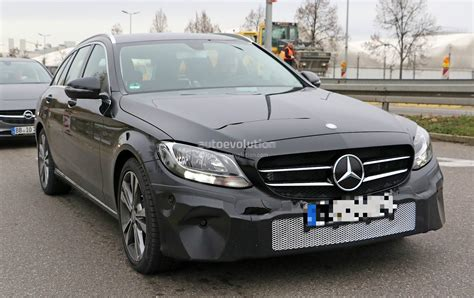 mercedes classic 2018 mercedes benz c class facelift shows interior for the