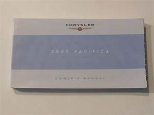 2005 Chrysler Pacifica Owners Manual Book