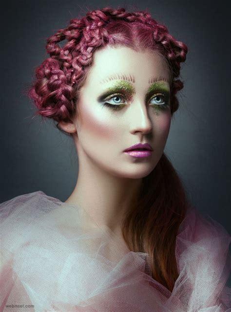 creative  beautiful fantasy fashion photography examples