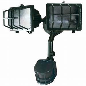 heath zenith 270 degree outdoor motion sensing security With outdoor motion lights at home depot