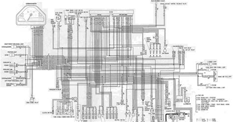 complete electrical wiring diagram  honda cbrrr