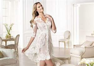 Wedding decoration informal lace wedding dresses for Casual lace wedding dress