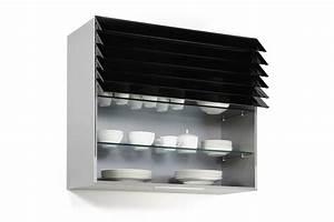 Rideau Coulissant Pour Meuble : meuble haut de cuisine avec rideau lamelles accessoires ~ Teatrodelosmanantiales.com Idées de Décoration