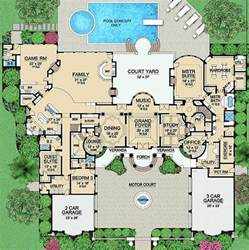 Luxury Estate House Floor Plans