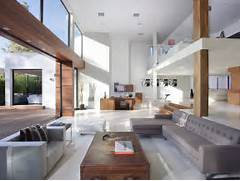 Modern Open Space Natural House Design Amazing Home Modern Beverly Hills House Wood Glass And Stone
