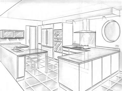 perspective cuisine dessin 1000 images about dessiner une cuisine en perspective on cuisine and saints