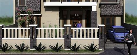 contoh model pagar rumah minimalis dirumahkucom