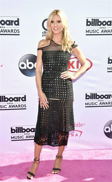 Heidi Klum From Billboard Music Awards Red Carpet