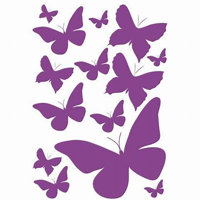 Stickers Papillons Deco Vitres