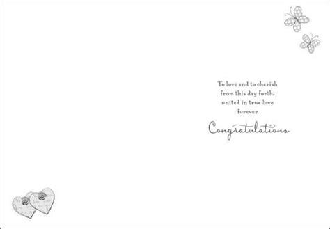 wishing  joy   wedding day card karenza paperie