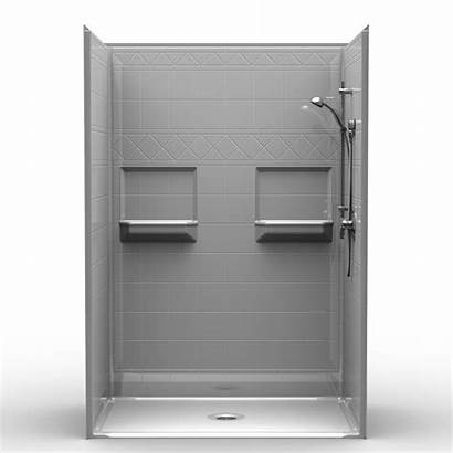 Shower Roll Showers Threshold Drain Piece Center