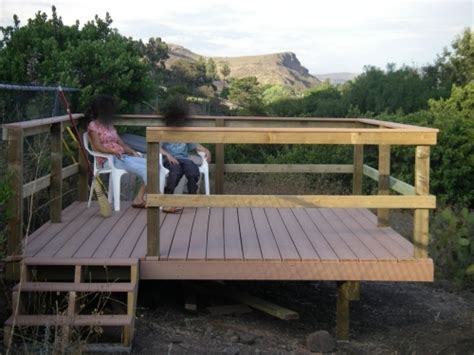 12x12 Free Standing Deck Plans by Composite Deck Picture Framing Composite Deck