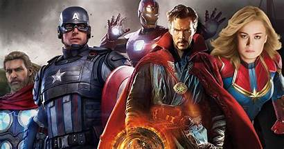 Avengers Characters Marvels Playable Marvel