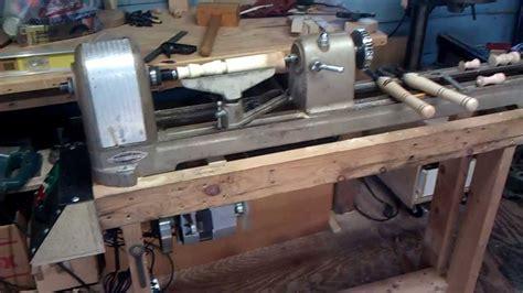 craftsman king seeley  wood lathe youtube