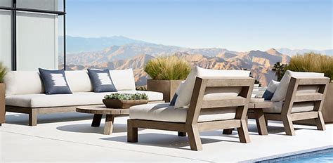 Restoration Hardware Introducing 2018 Rh Outdoor Collection by Merida Collection Rh