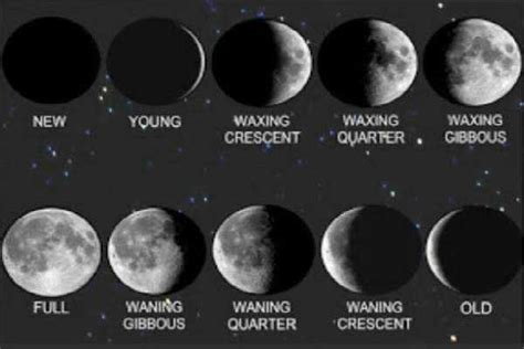 moon phases contemplating   month calendar seeker project  spiritual exploration spse
