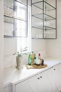 glass wall mounted cabinets hollywood thing With kitchen colors with white cabinets with black wrought iron wall mounted candle holder