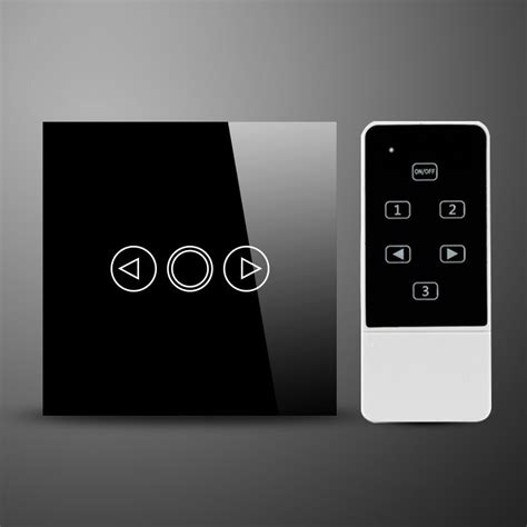 remote control l dimmer glass switch glass 1 gang 300w touch dimmer remote control