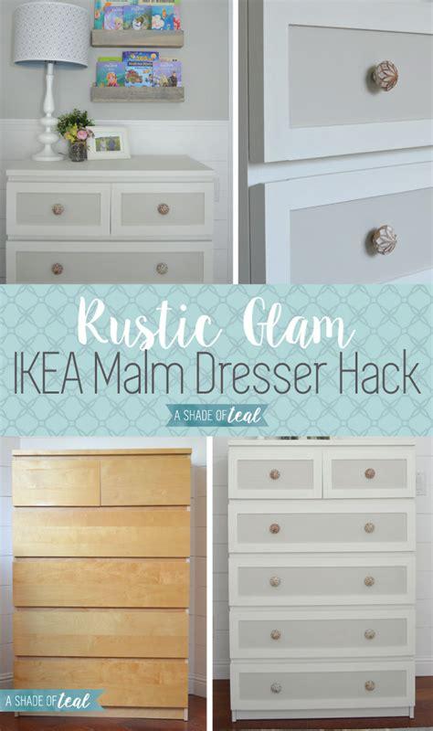 ikea chambre malm ikea malm dresser hack for a rustic glam nursery