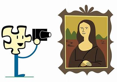 Mona Lisa Taking Svg Clipart Puzzly Clip
