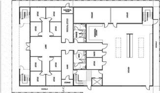 architecture plan small office building plans pdf