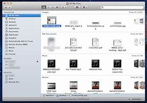 use gestures in all my files view to find wayward files With my documents apple