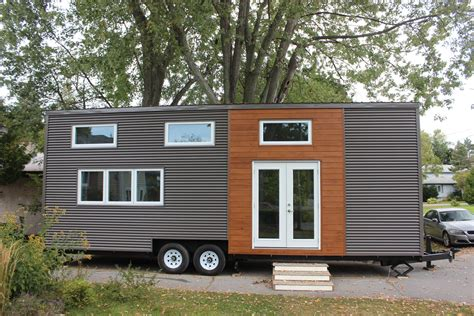 Tiny Homes On Wheels by Modern Tiny House On Wheels Modern Home In Kingston