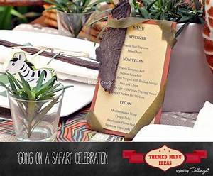 Creative Menu Card Ideas To Suit Your Party Theme ...