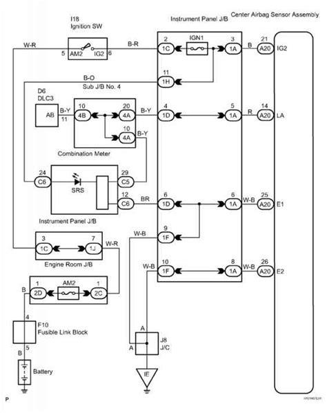 Indicator Light Wiring Diagram by Ok Replace Center Airbag Sensor Assembly Dtc B Indicator