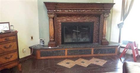 revamp  ugly brick fireplace  paint hometalk