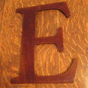 metal e sign letter rusty rustic wall from With rustic metal wall letters