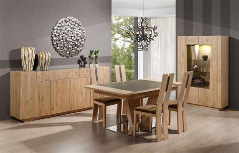 Salle à Manger Contemporaine Chêne Et Céramique Forest