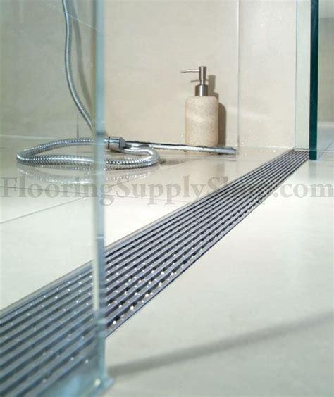 aco shower drain quartz by aco linear shower drain linear wedge
