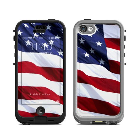iphone 5c cases lifeproof lifeproof iphone 5c nuud skin patriotic by flags