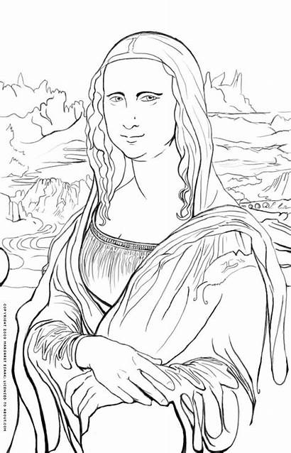 Coloring Pages Cliparts Printable Artist Painting Paint