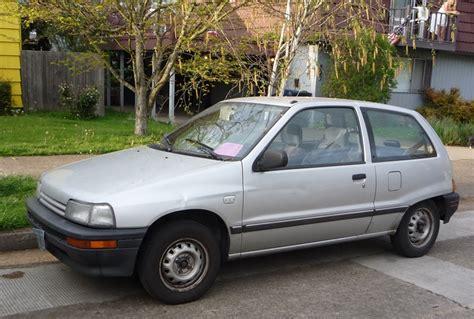 1989 Daihatsu Charade by Curbside Classic 1989 Daihatsu Charade The About Cars