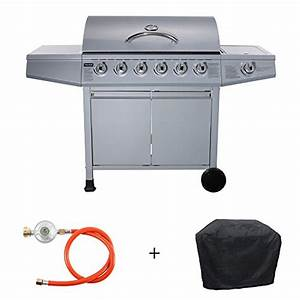 Taino Gasgrill 6 1 : grill set taino gasgrill inkl zubeh r bbq grillwagen 6 edelstahl brenner 1 seitenkocher gas ~ Sanjose-hotels-ca.com Haus und Dekorationen