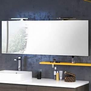 Miroir Étagère Salle De Bain : miroir de salle de bain discac miroir led salle de bain ~ Melissatoandfro.com Idées de Décoration