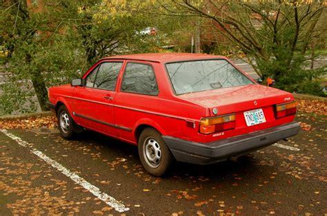 volkswagen fox 1990 old parked cars 1990 volkswagen fox coupe